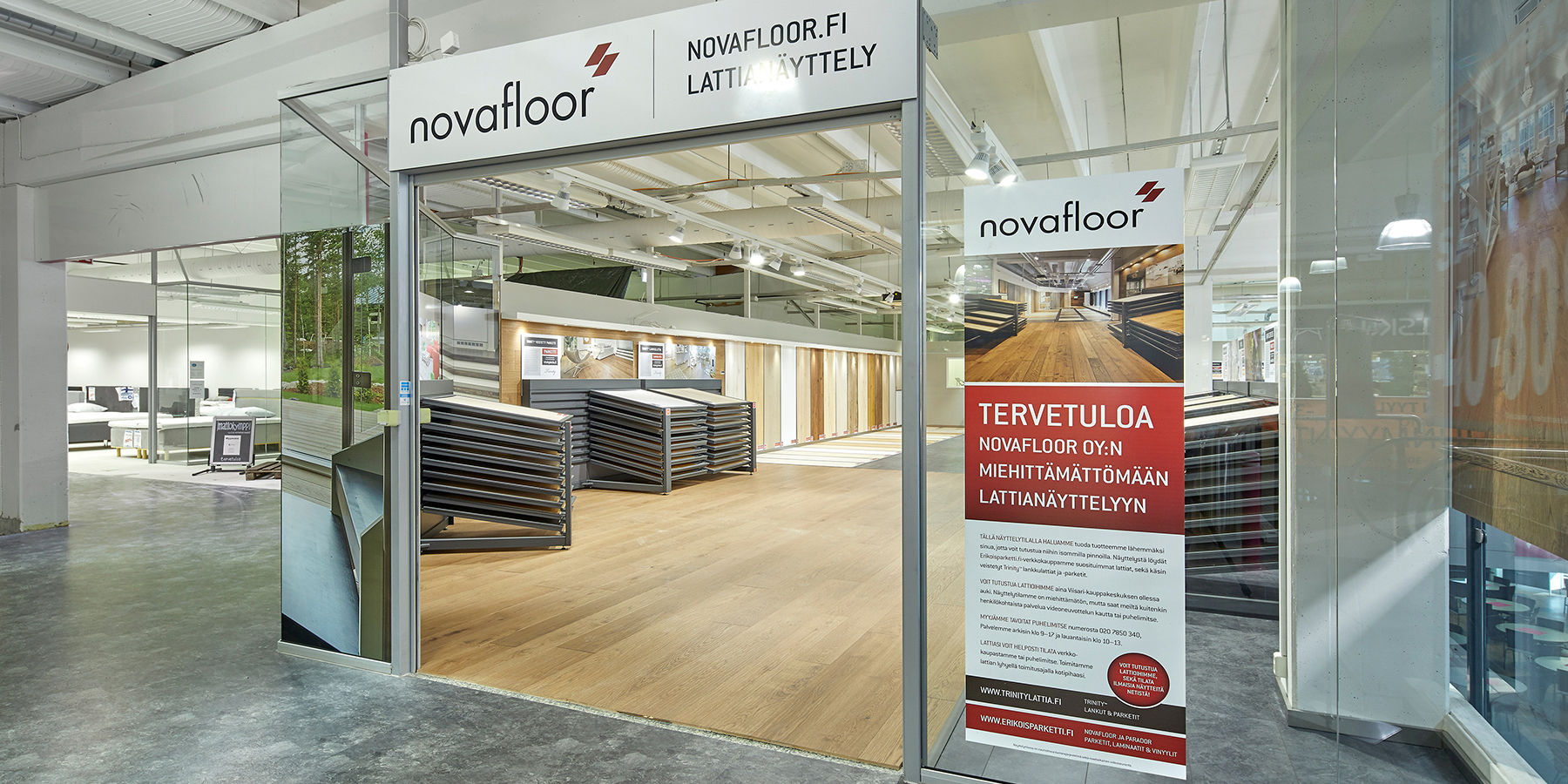 Novafloor.fi showroom